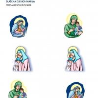 Blažena Djevica Marija - spajanje slika