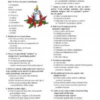 Božić - običaj ili doživljaj (Makov psihotest)