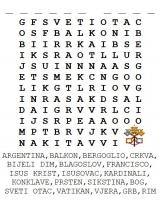 Franjo prvi – osmosmjerka sa 19 pojmova