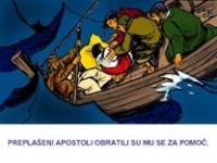 Isus stišaje oluju – pps