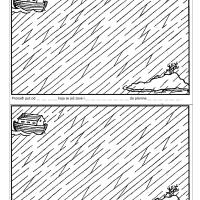 Noina arka na putu za kopno