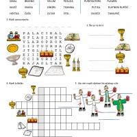 Liturgijsko ruho i posuđe - radni list prema pps-u