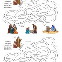 Pastiri na putu u Betlehem