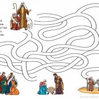 Pastiri na putu u Betlehem A4