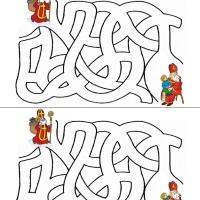 Sveti Nikola - labirint