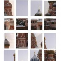 Blaženi Vasilije u Moskvi zimi