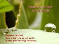 Divno je Ime Tvoje po svoj zemlji - psalam 8