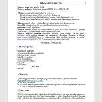 Ozdravljenje uzetoga (priprema AG)
