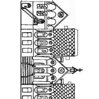 Model za izradu crkve
