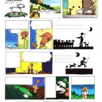 Prispodoba o izgubljenoj ovci - radni list u stripu