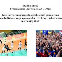 Korelacija KV i TZK u srednjoj školi (ppt Stanko Stojić)
